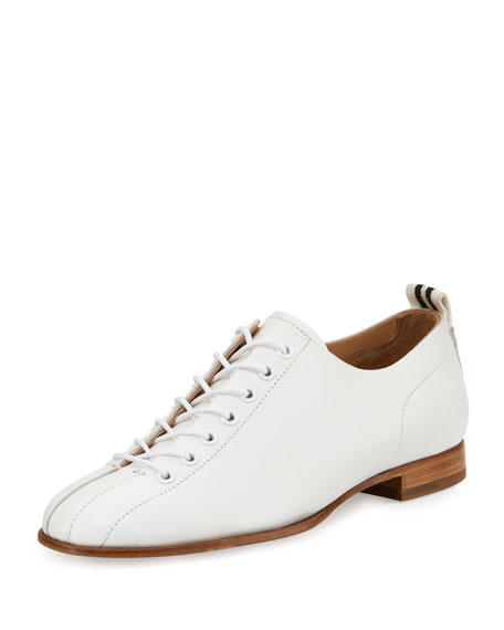 Rag & Bone Alley Leather Oxford, White