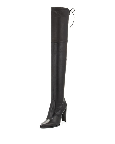 Stuart Weitzman Highstreet Stretch Over-the-Knee Boot, Black