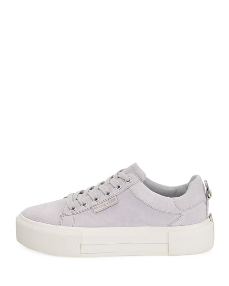 Tyler 2 Suede Platform Sneaker, Light Gray