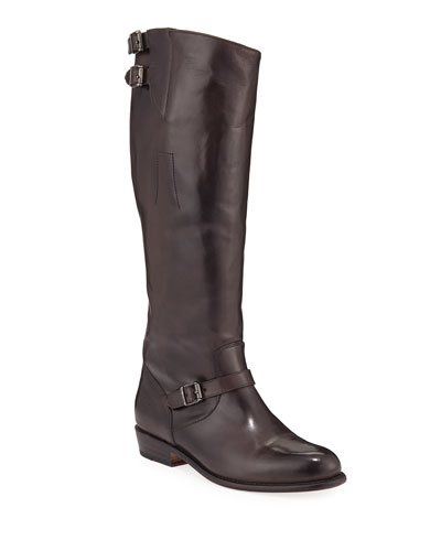 Dorado Tall Leather Riding Boots