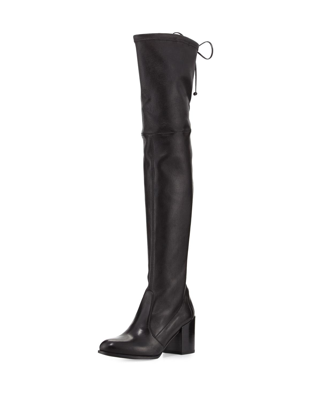 6c50b3874d0 Stuart Weitzman Tieland Leather Over-the-Knee Boot