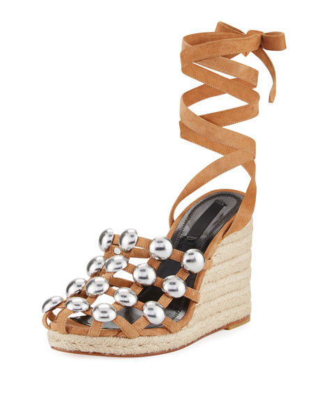 Alexander Wang Studded Wrap-Around Sandals