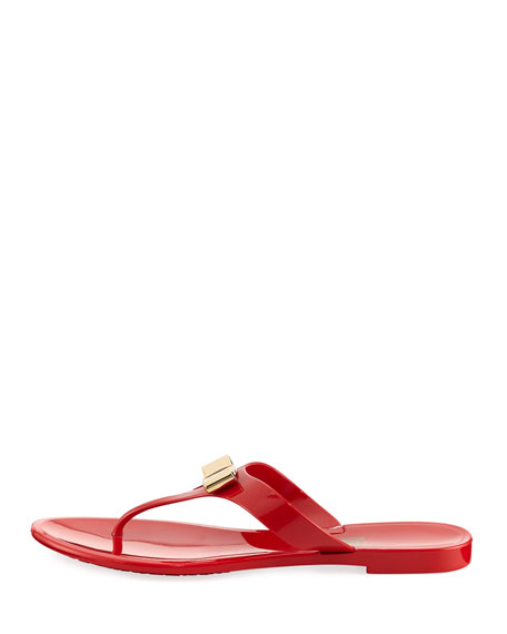 Jelly City Sandal, Red