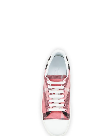 Westford Check Low-Top Sneaker, Pink