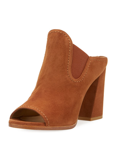Stuart Weitzman Suede Slideup Mules cheap sale sneakernews clearance visit 9st3p