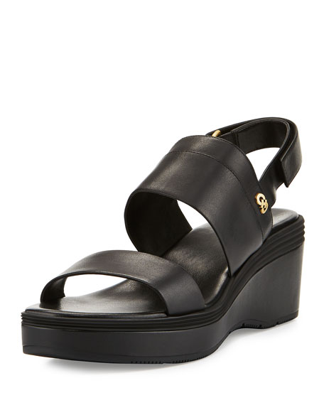 Cole Haan Thandie Grand II Banded Sandal, Black
