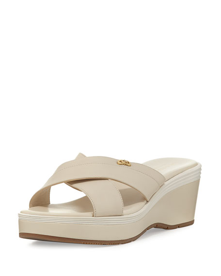 Cole Haan Briella Grand Wedge Sandal, Neutral/Multi