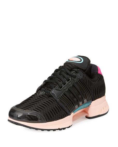 Adidas Climacool Knit Running Sneaker, Black