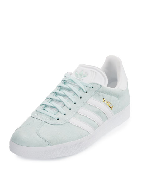 Adidas Gazelle Original Suede Sneaker, Light Green