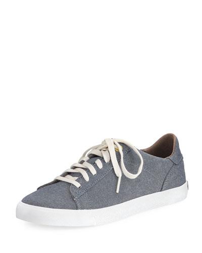Trafton Club Court Denim Sneaker, Blue