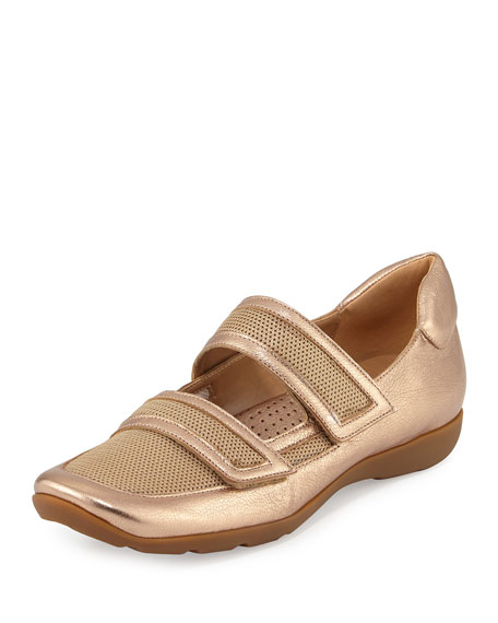 Gyan Mary Jane Grip Sneaker, Beige