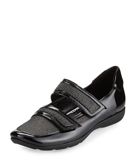 Sesto Meucci Gyan Mary Jane Grip Sneaker, Black