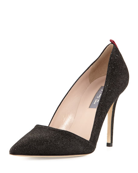 SJP by Sarah Jessica Parker Rampling Glitter Pointed-Toe