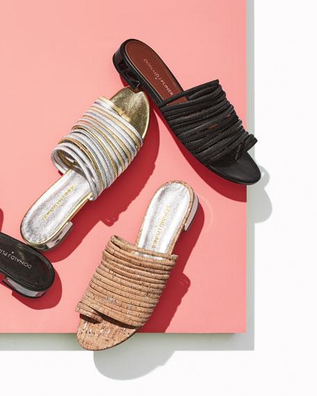 Salinas Tassel Slide Sandal