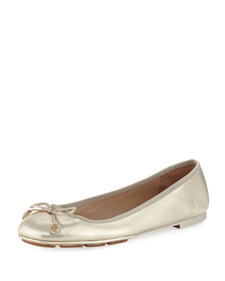 Tory Burch Laila Ballet Driver Flat, Gold