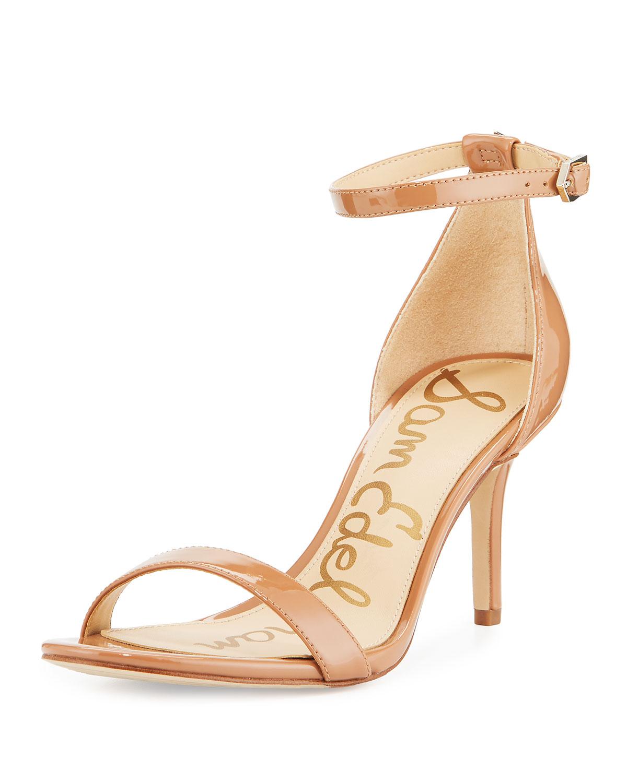 e30b84d48569 Sam Edelman Patti Patent Ankle-Strap Sandal