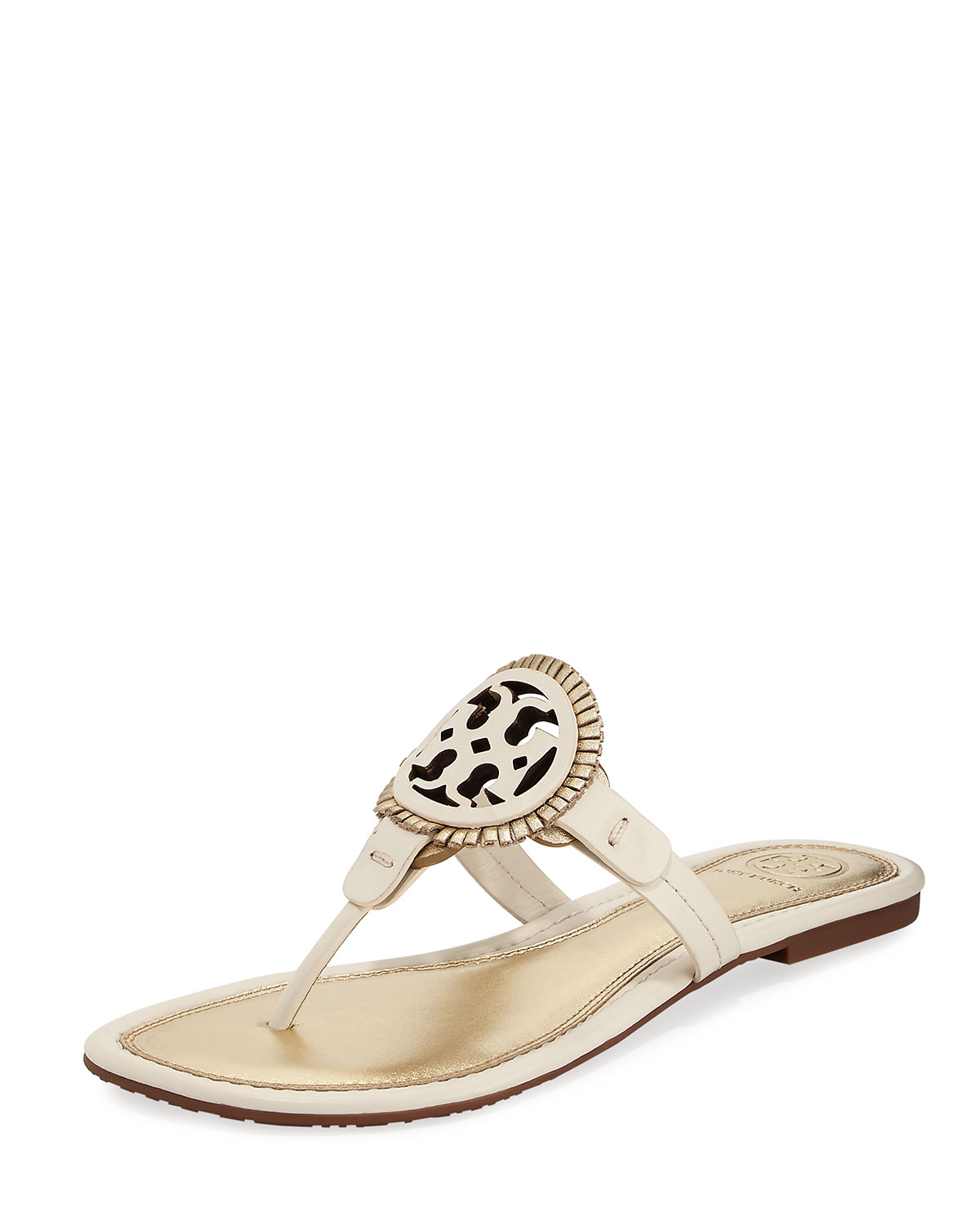 77bed80675a4 Tory Burch Miller Fringe Flat Thong Sandals