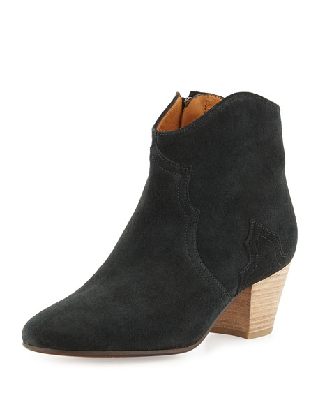 Dicker Suede Booties