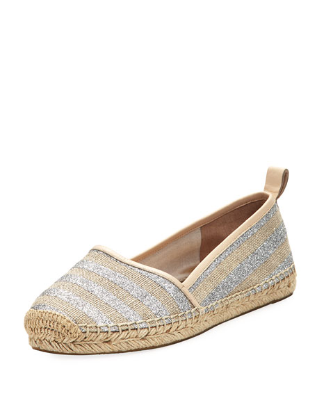 kate spade new york lilliad slip-on striped espadrille