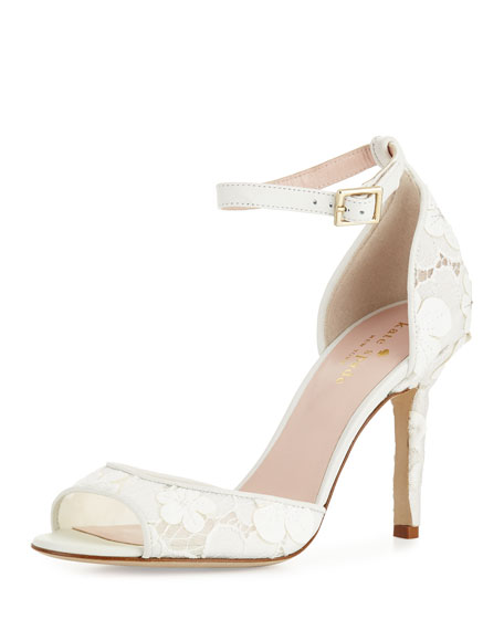 kate spade new york ideline lace sandal, off