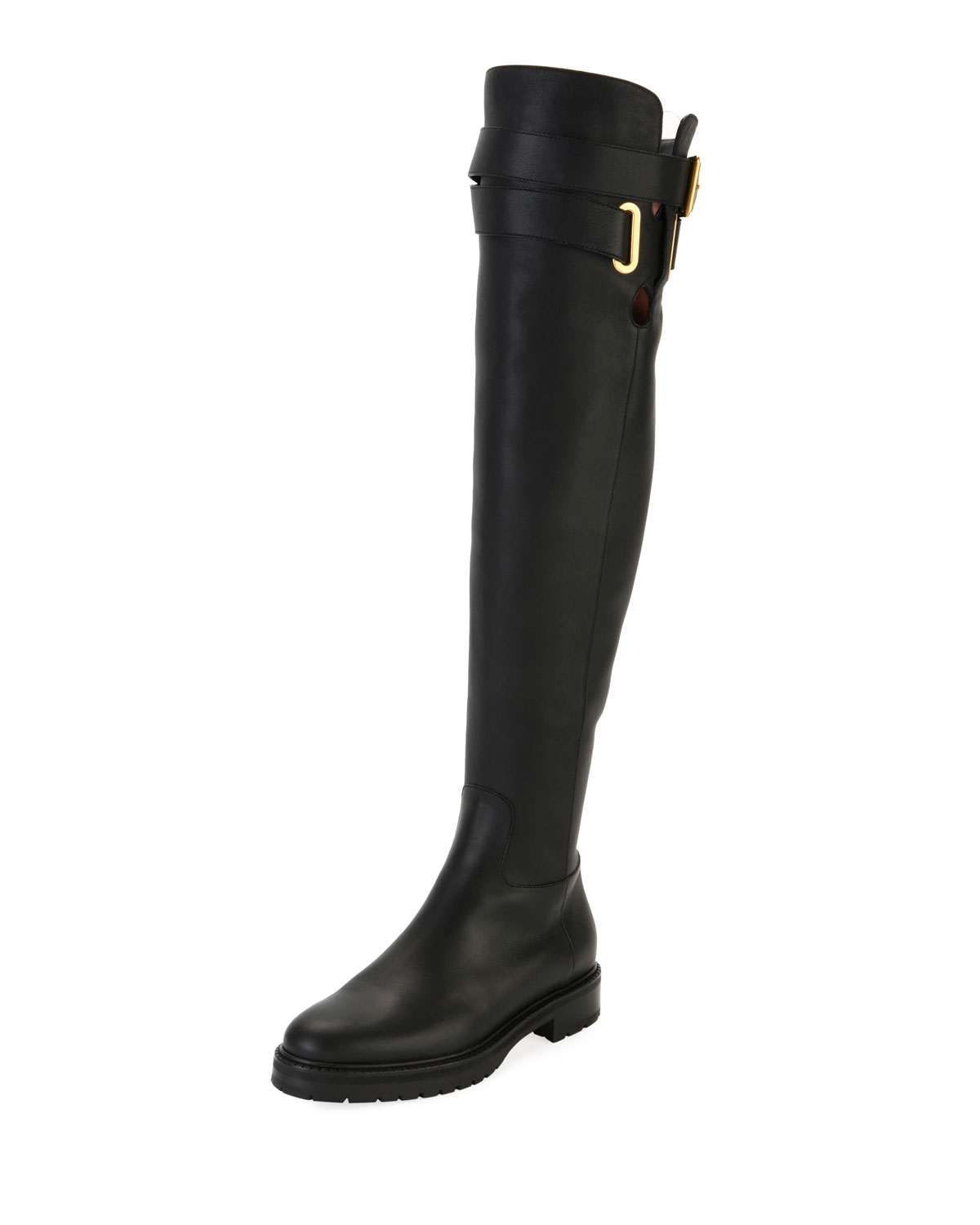 71c8026f75d Valentino Garavani Over-the-Knee Leather Boot