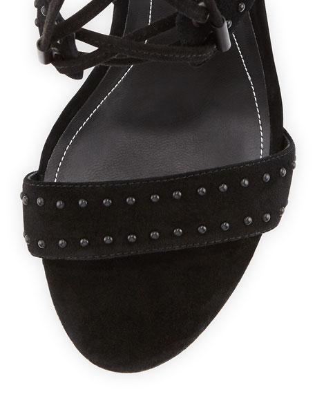 Dawn2 Studded Strappy Sandal, Black