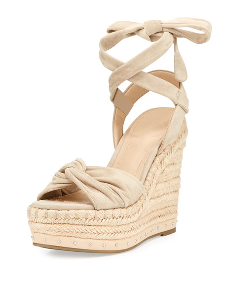 Kendall + Kylie Grayce Espadrille Wedge Sandal, Light