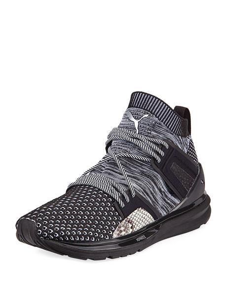 Puma B.O.G. Limitless Hi Animal Sneaker, Black