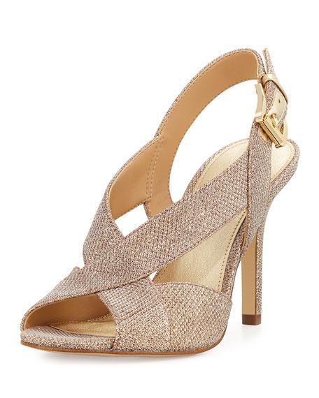 MICHAEL Michael Kors Becky Strappy Metallic Sandal