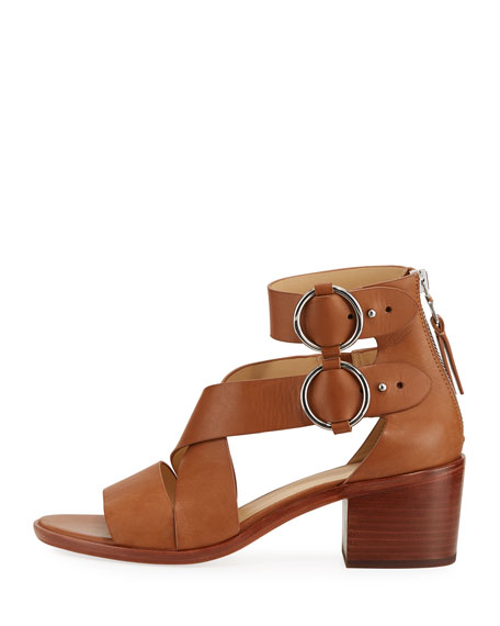Mari Leather Strappy Sandal
