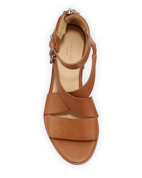 Mari Leather Strappy Sandal