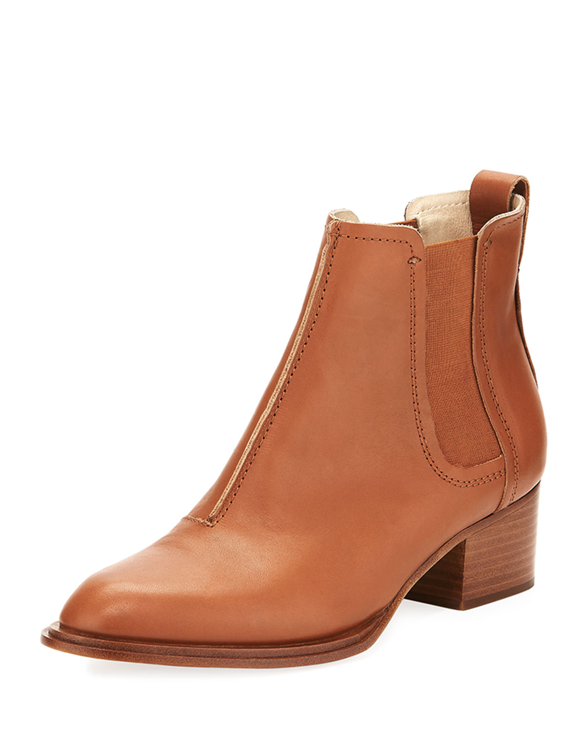2bcd9af9da Rag & Bone Walker II Leather Chelsea Boots, Tan | Neiman Marcus