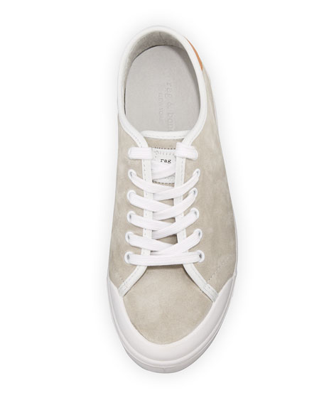 Standard Issue Suede Sneaker, Off White