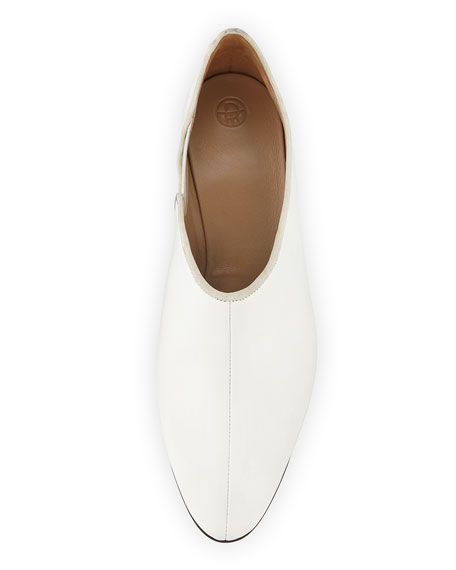 Cara Gored Leather Slip-On