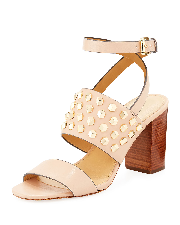 90b583b57f25b MICHAEL Michael Kors Valencia Studded Leather Sandal
