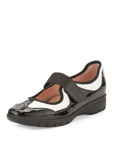 Arnissa Mixed Leather Sport Slip-On