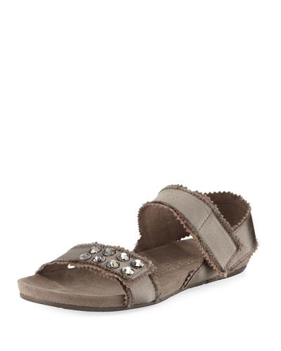 Neiman marcus women's flat sandals