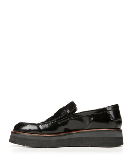 Dorsey Creeper Loafer, Black