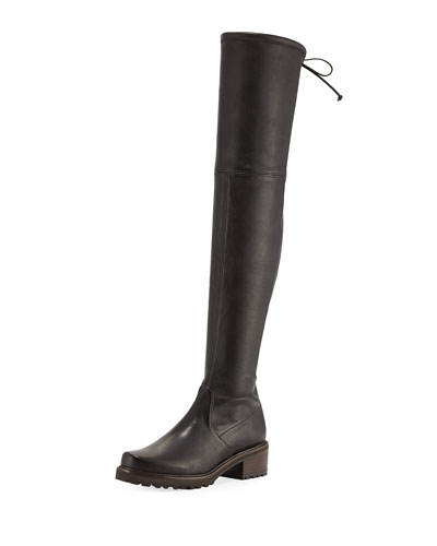 Vanland Leather Over-the-Knee Boot