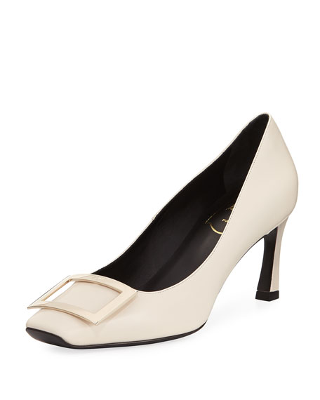 Roger Vivier Belle Vivier Trompette Leather 70mm Pump,