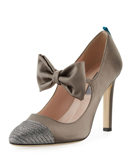 SJP by Sarah Jessica Parker Prima Cap-Toe Bow