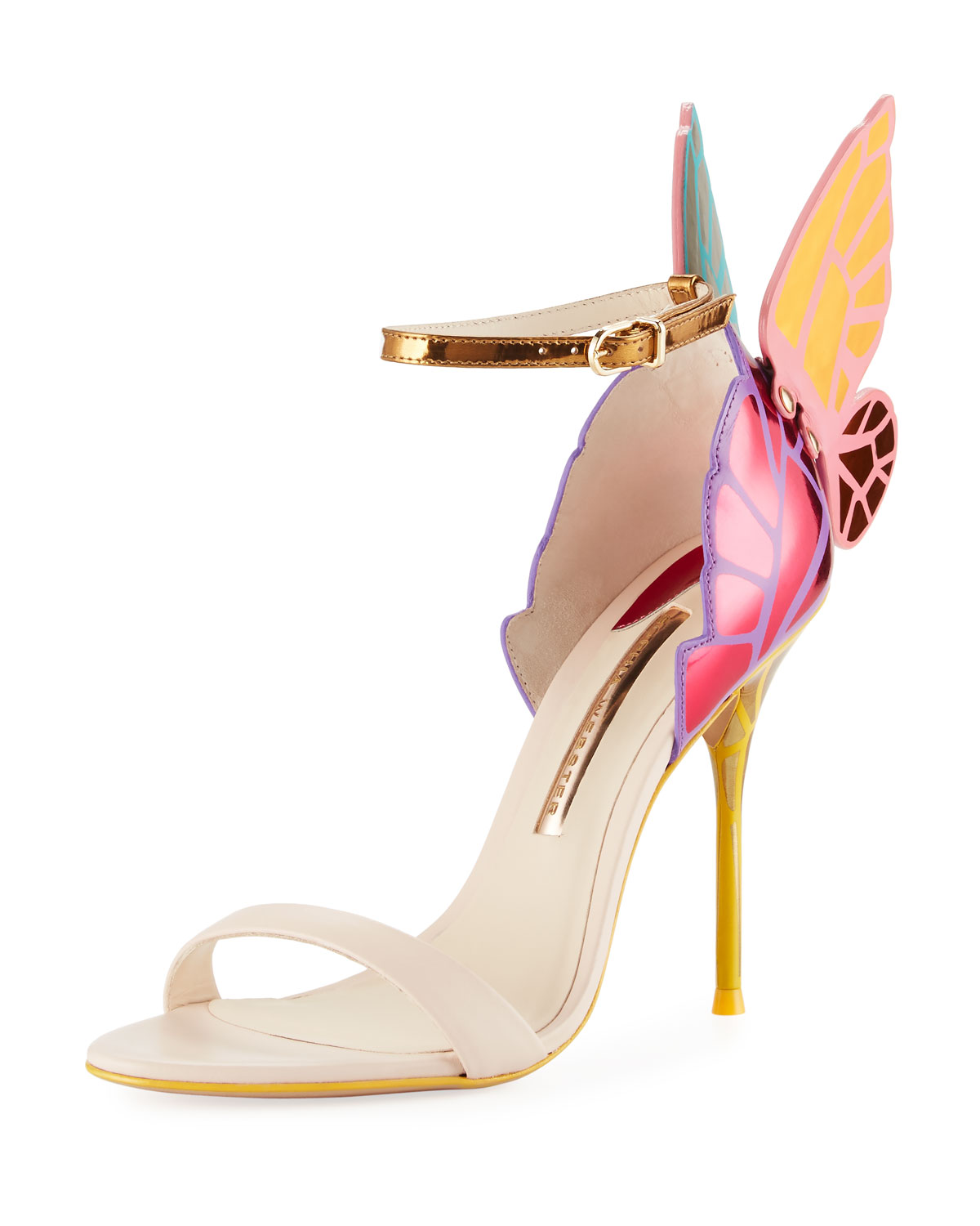 c762fbea283a Sophia Webster Chiara Butterfly Wing Multicolor Sandal