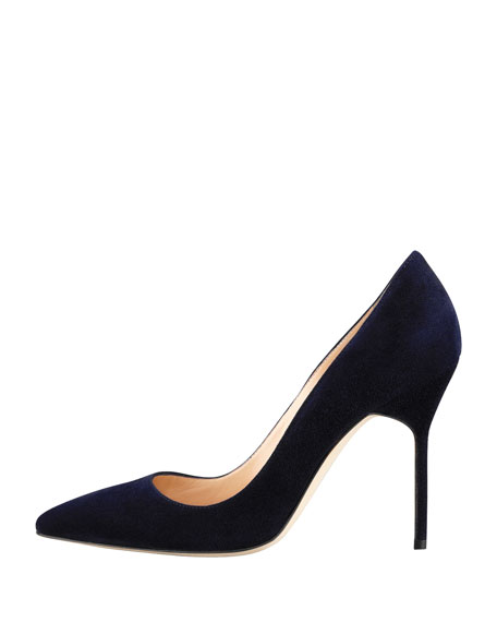 BB 105mm Suede Pump (Tora Heel)