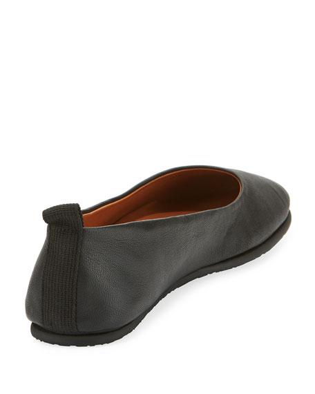 Dana Leather Ballerina Flat