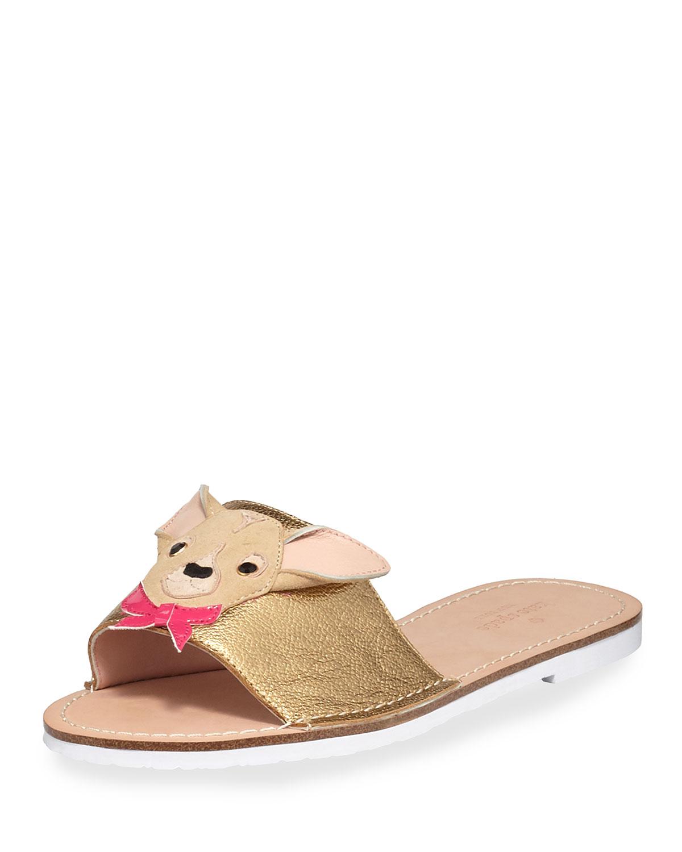 d0e7cac0fcba kate spade new york isadore doggie flat slide sandal