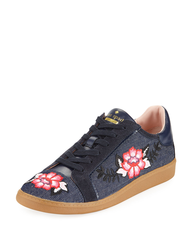 kate spade floral sneakers