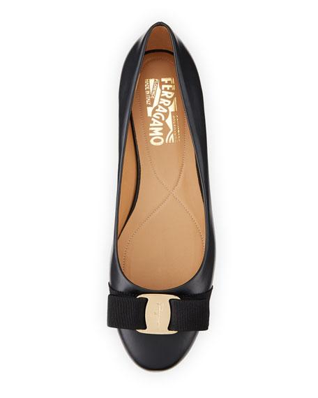 Varina Bow Ballet Flats, Black