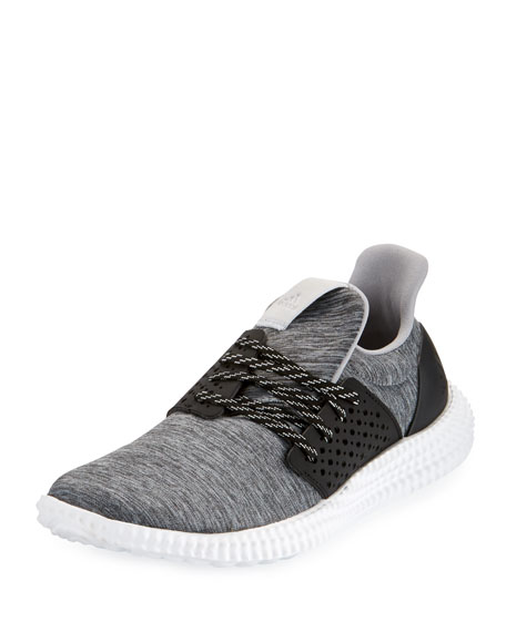 Adidas Athletics 24/7 Stretch-Knit Trainer, Black