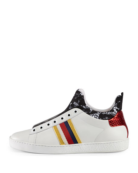 New Ace High-Top Sneaker, White