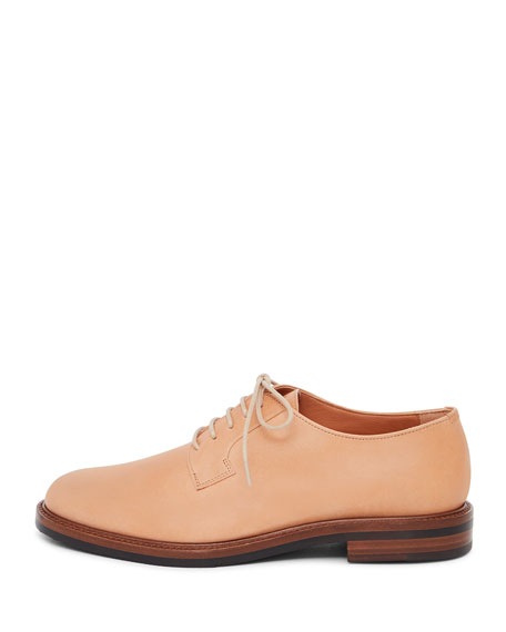 Classic Leather Lace-Up Oxford